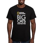 Big Cats Initiative Men's Fitted T-Shirt (dark)