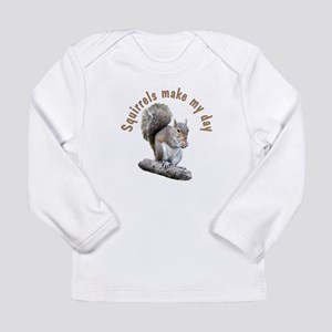 Squirrel Long Sleeve Infant T-Shirt