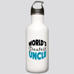 Worlds Greatest Uncle Stainless Water Bottle 1.0L