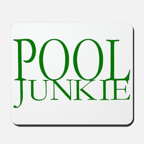 Pool Junkie Mousepad