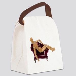 LoungingAround123109 Canvas Lunch Bag