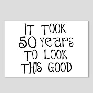 50th birthday sayings postcards cafepress