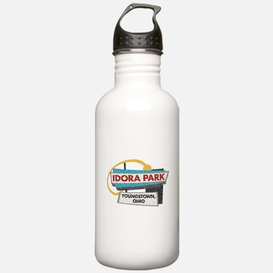 Idora Park Sign Water Bottle