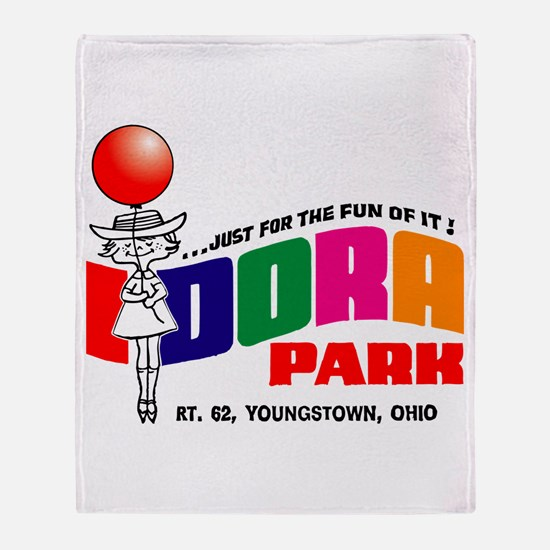 idora park Throw Blanket