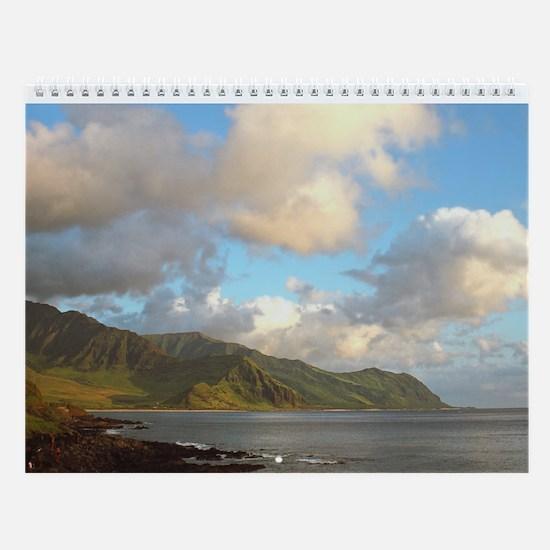 Hawaii West Oahu Wall Calendar