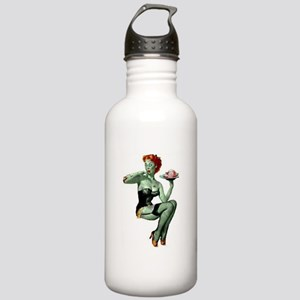 zombie pin-up girl Stainless Water Bottle 1.0L