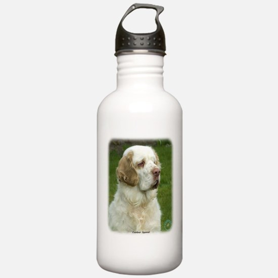 Clumber Spaniel 9Y003D-101 Sports Water Bottle