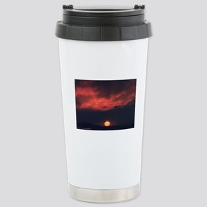 Burning at Dawn- Stainless Steel Travel Mug