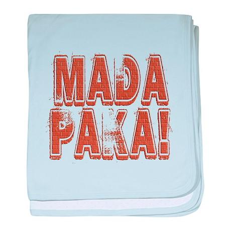 Mada Paka! baby blanket
