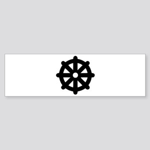 Dharma wheel Sticker (Bumper)