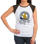 MacGillivray Clan Badge Women's Cap Sleeve T-Shirt