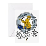 MacGillivray Clan Badge Greeting Cards (Package of