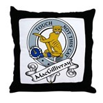 MacGillivray Clan Badge Throw Pillow