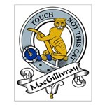 MacGillivray Clan Badge Small Poster