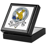 MacGillivray Clan Badge Keepsake Box