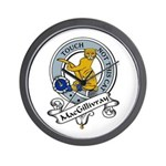 MacGillivray Clan Badge Wall Clock