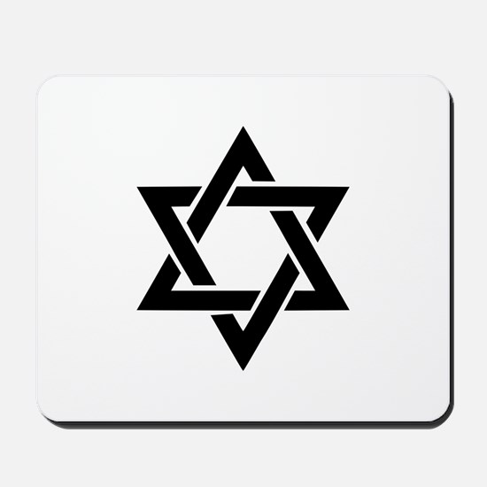 Star of david Mousepad