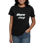 Horn Dog Women's Dark T-Shirt