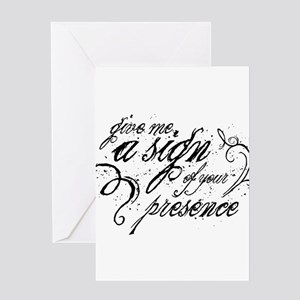 Paranormal Presence Greeting Card