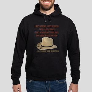 The Shootists Creed Hoodie (dark)