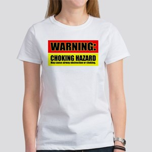 BJJ Choking Hazard Women's T-Shirt