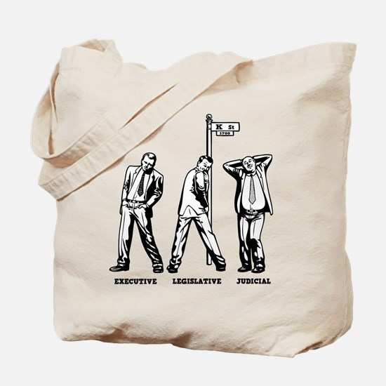 3 Bitches of Government Tote Bag