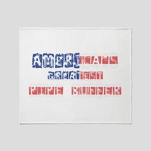 America's Greatest Pipe Buffer Throw Blanket