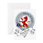 MacDuff Clan Badge Greeting Cards (Pk of 10)