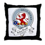 MacDuff Clan Badge Throw Pillow