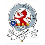 MacDuff Clan Badge Small Poster