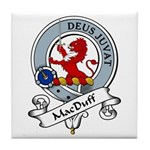 MacDuff Clan Badge Tile Coaster