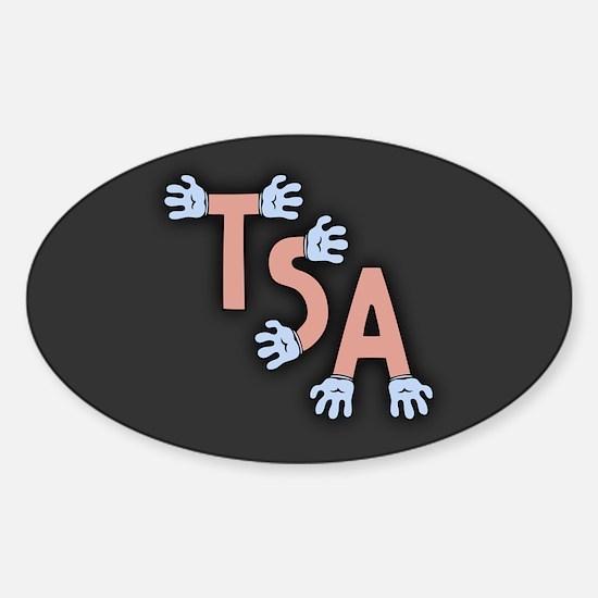 TSA- Hands-On Div Logo Sticker (Oval)