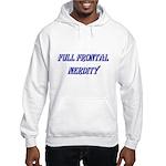 Full Frontal Nerdity Hooded Sweatshirt
