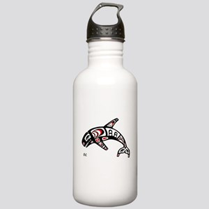 Killer Whale Stainless Water Bottle 1.0L