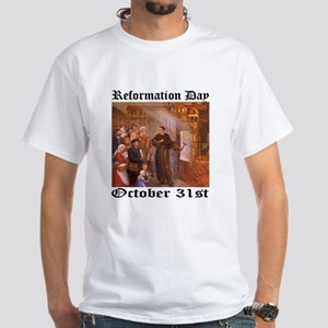 Reformation Day - White T-Shirt