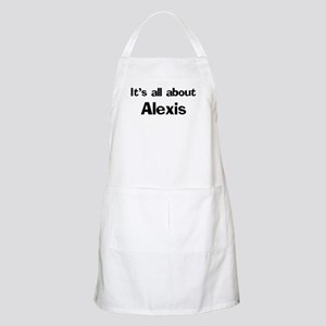 It's all about Alexis BBQ Apron