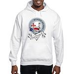 MacDougall Clan Badge Hooded Sweatshirt