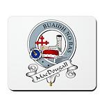 MacDougall Clan Badge Mousepad
