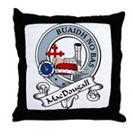 MacDougall Clan Badge Throw Pillow