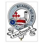 MacDougall Clan Badge Small Poster