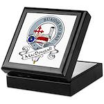 MacDougall Clan Badge Keepsake Box