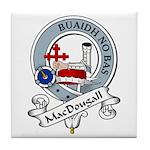 MacDougall Clan Badge Tile Coaster