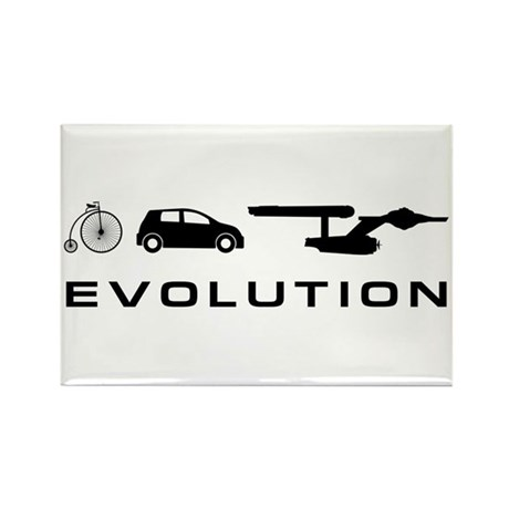 Trek Evolution Rectangle Magnet