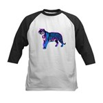 Corey Tiger 80s Retro Vintage Blue Tiger T-Shirt K