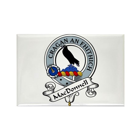 MacDonnell Clan Badge Rectangle Magnet (10 pack)