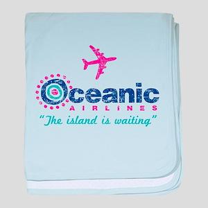 Oceanic Airlines baby blanket