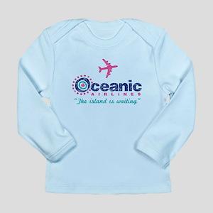 Oceanic Airlines Long Sleeve Infant T-Shirt