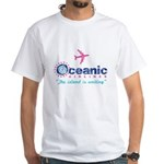 Oceanic Airlines White T-Shirt