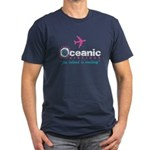 Oceanic Airlines Men's Fitted T-Shirt (dark)