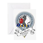 MacBain Clan Badge Greeting Cards (Pk of 10)